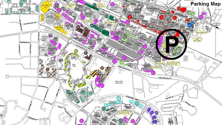 Ncsu Parking Map Find My Way Around Campus – Transportation