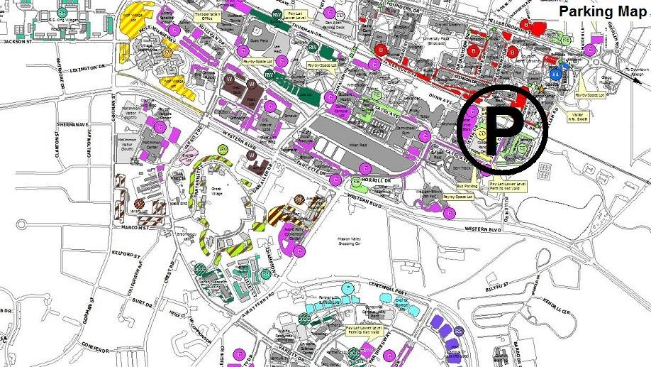 Find My Way Around Campus – Transportation