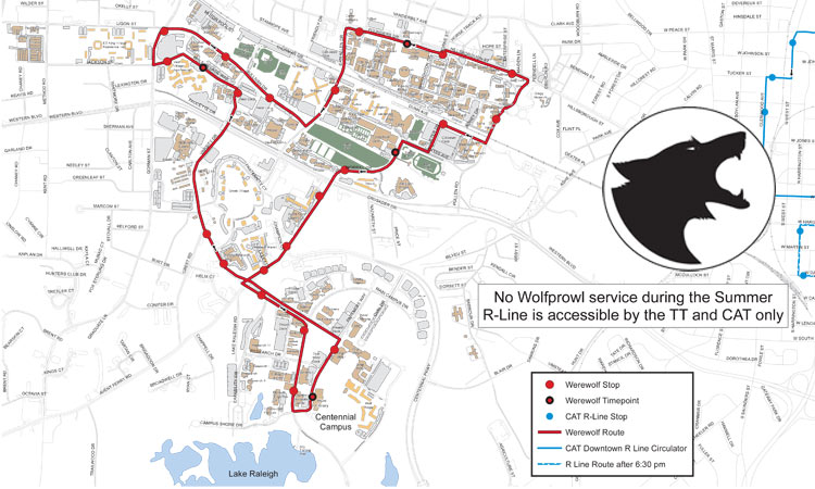 Riding the Wolfline Bus – Transportation on