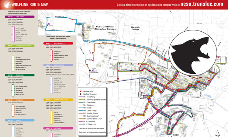 Wolfline Systems Maps In Pdf Transportation